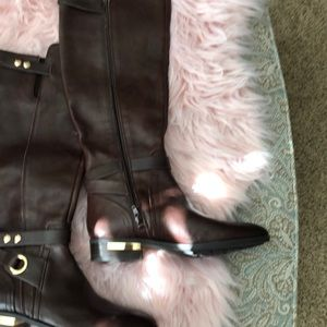 ee5d383c3e1 Vince Camuto Shoes - Vince Camuto Women s Brown Prestinta – Riding Boot